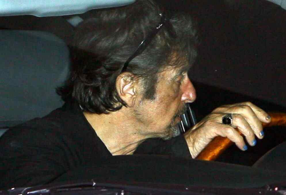 Uñas decoradas Al Pacino