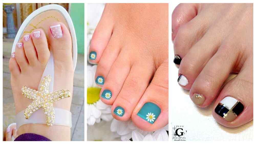 m s de 40 fotos de u as decoradas para pies foot nails