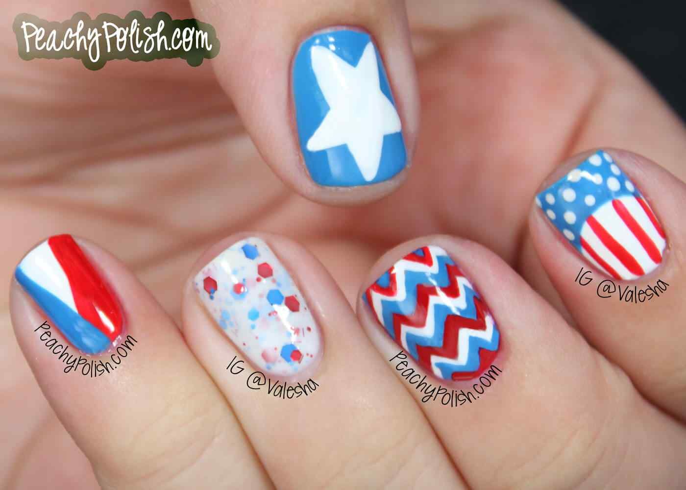 4TH of july nails (9)