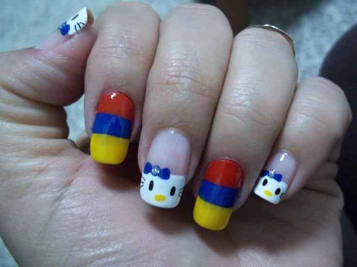 unas decoradas bandera de colombia (5)