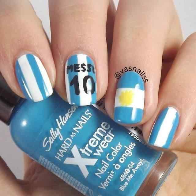 decoracion de unas argentina (3)