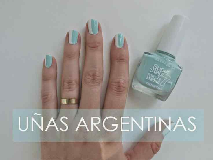 decoracion de unas bandera argentina (9)