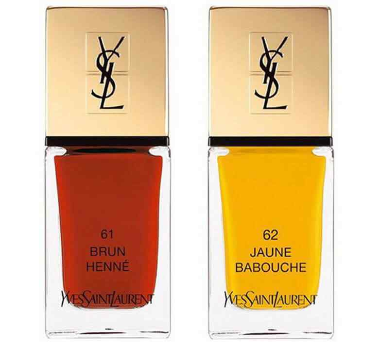 Yves sSaint Laurent Laque Couture Summer Collection