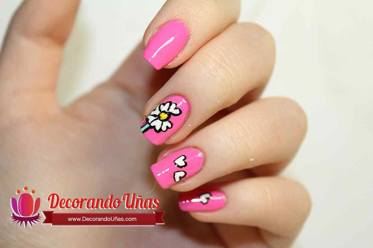 unas-rosas-con-flores