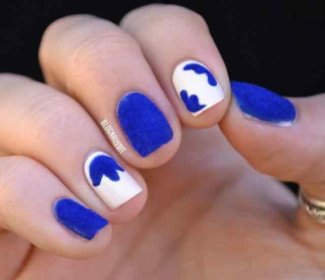 velvet nail art (5)
