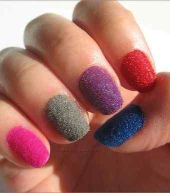 velvet nail art (8)