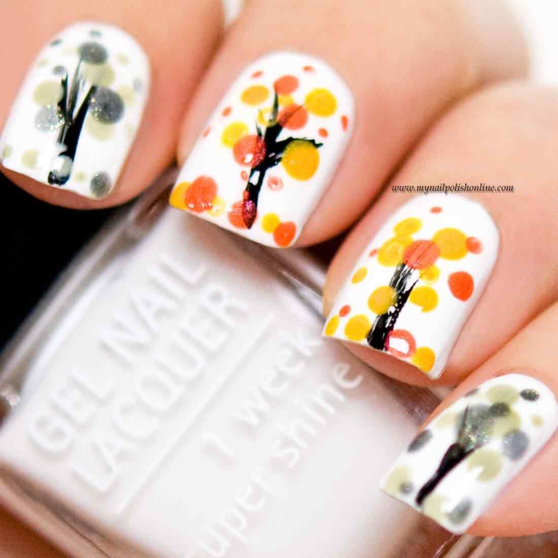 Autumn nail art (7)