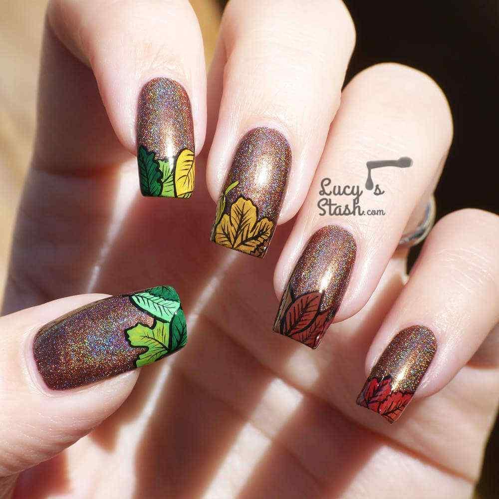 Autumn nail art (8)