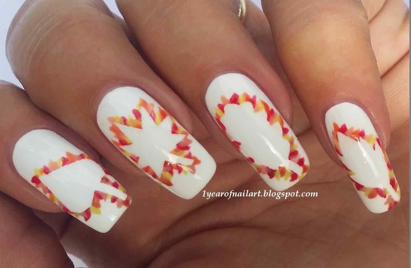 Autumn nail art (9)