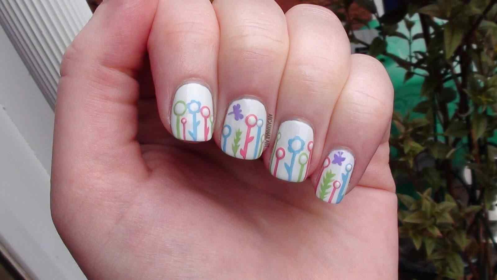Spring nail art (2)