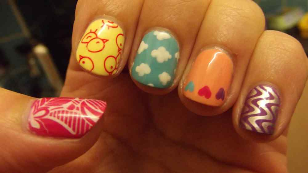 Spring nail art (4)