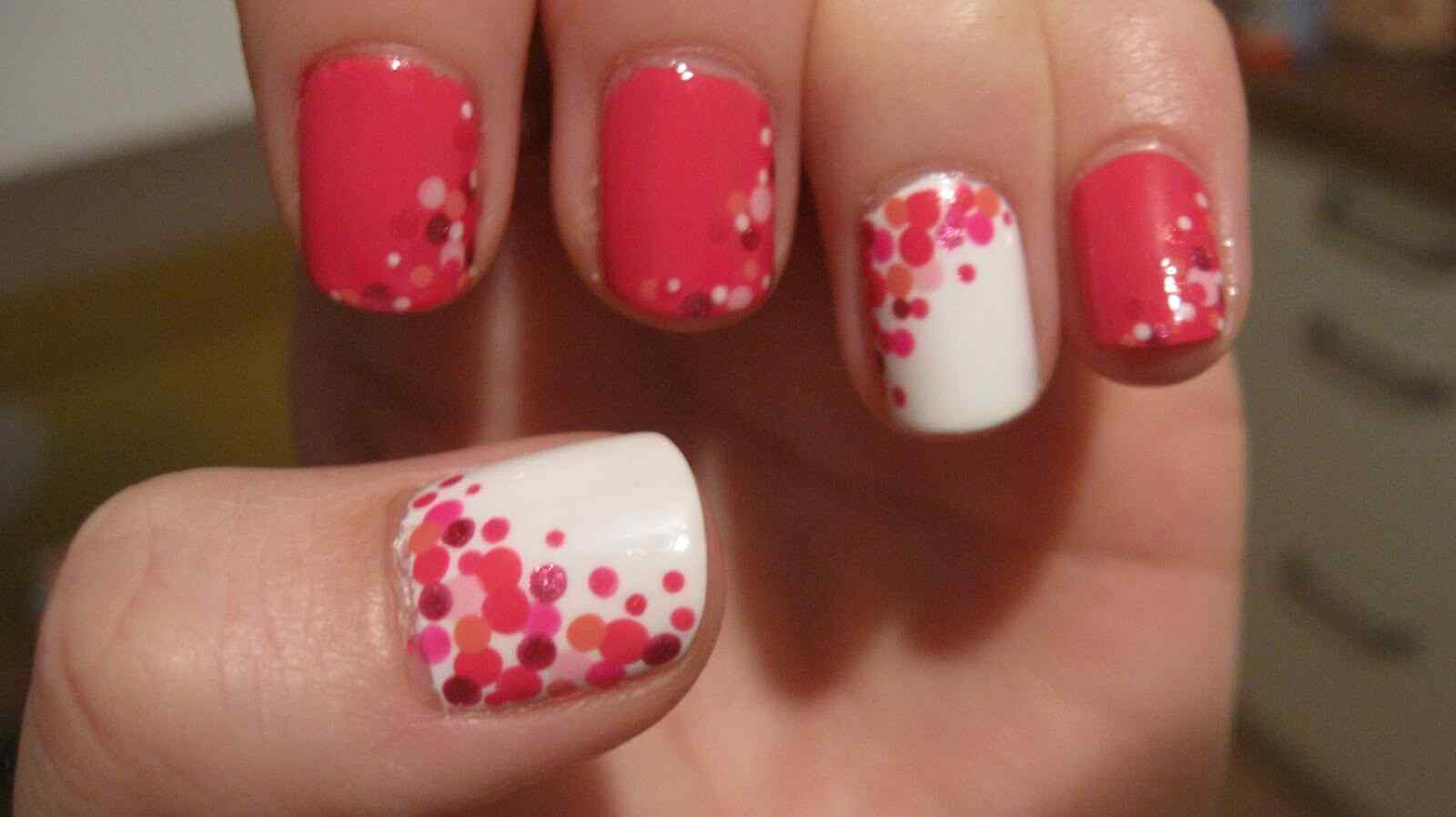 confetti nail art (10)