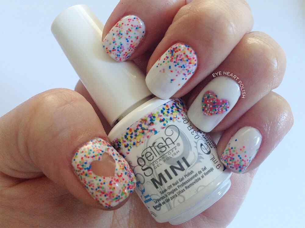 confetti nail art (3)