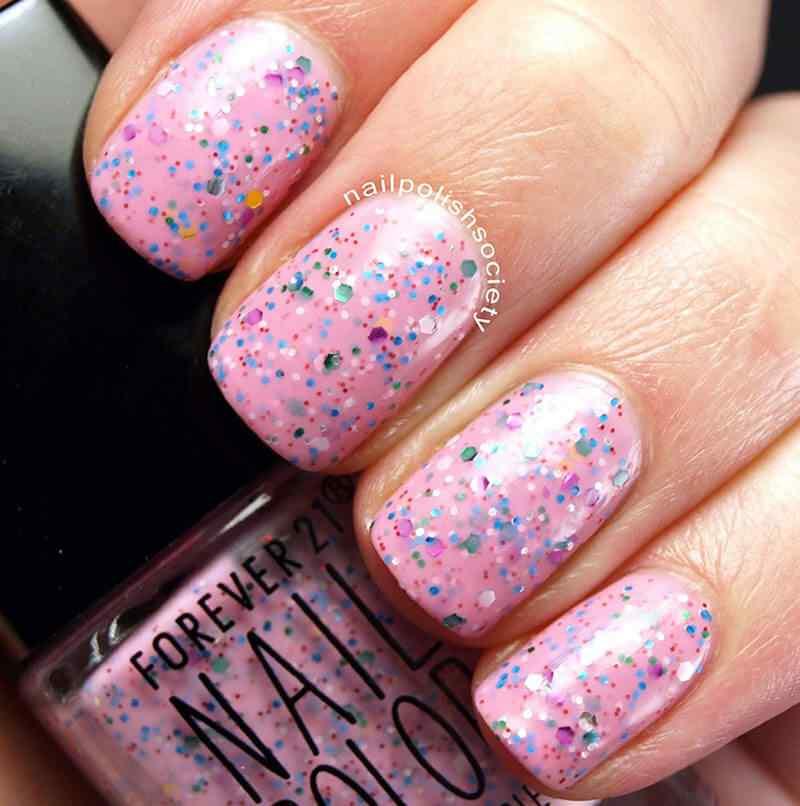 confetti nail art (4)