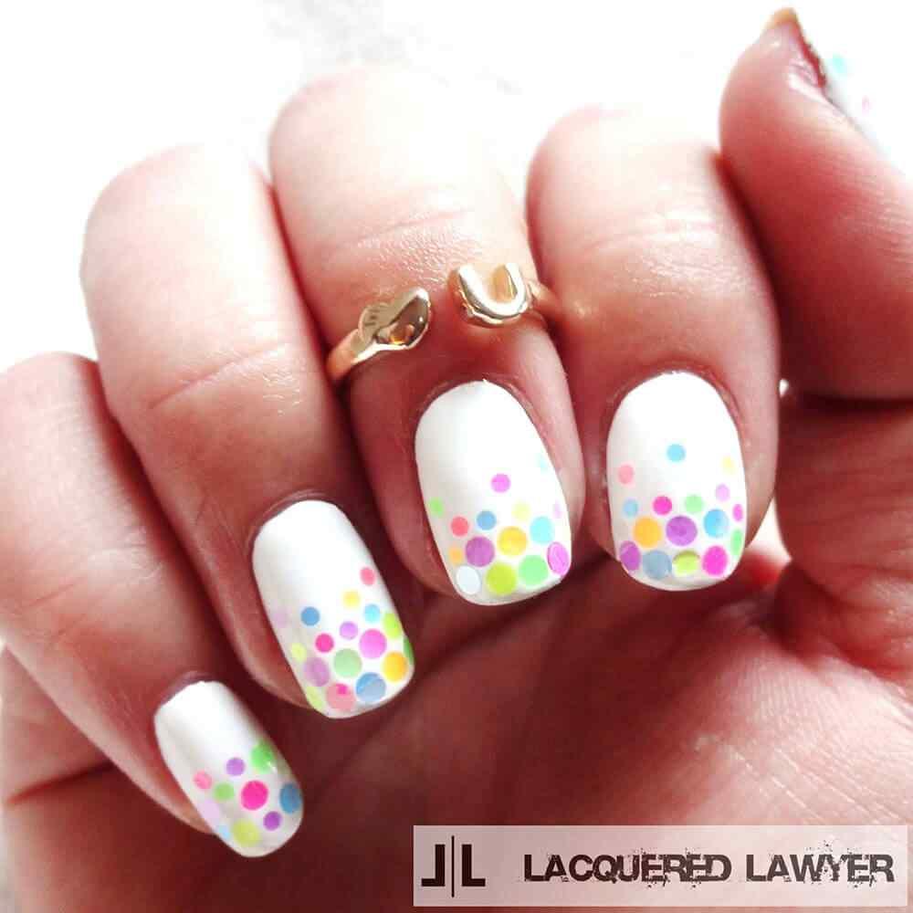 confetti nail art (5)