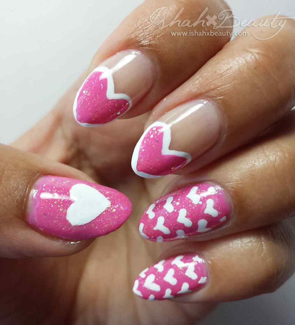 heart nail art (4)
