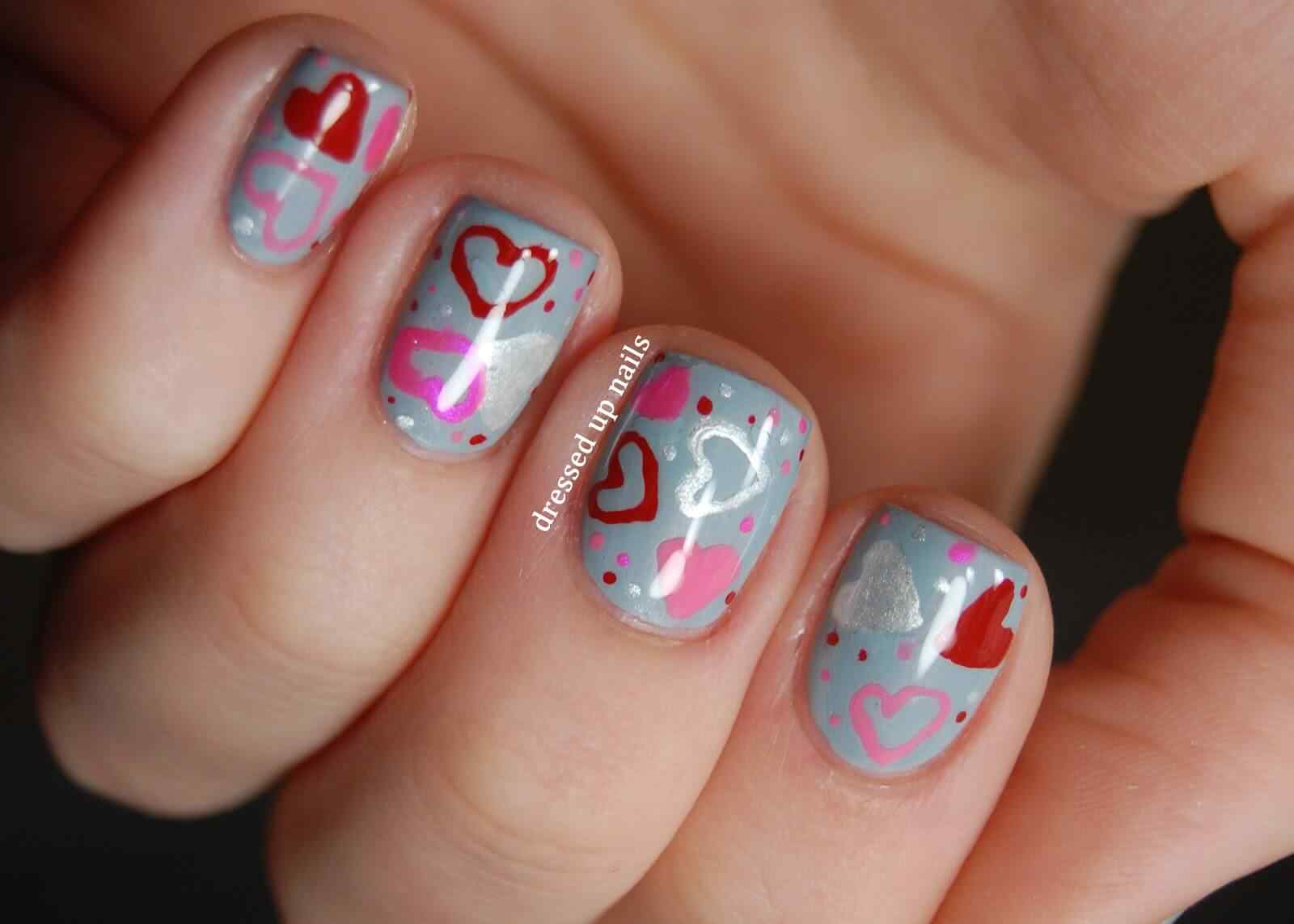 heart nail art (8)