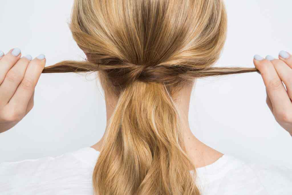 peinado semi recogido 2