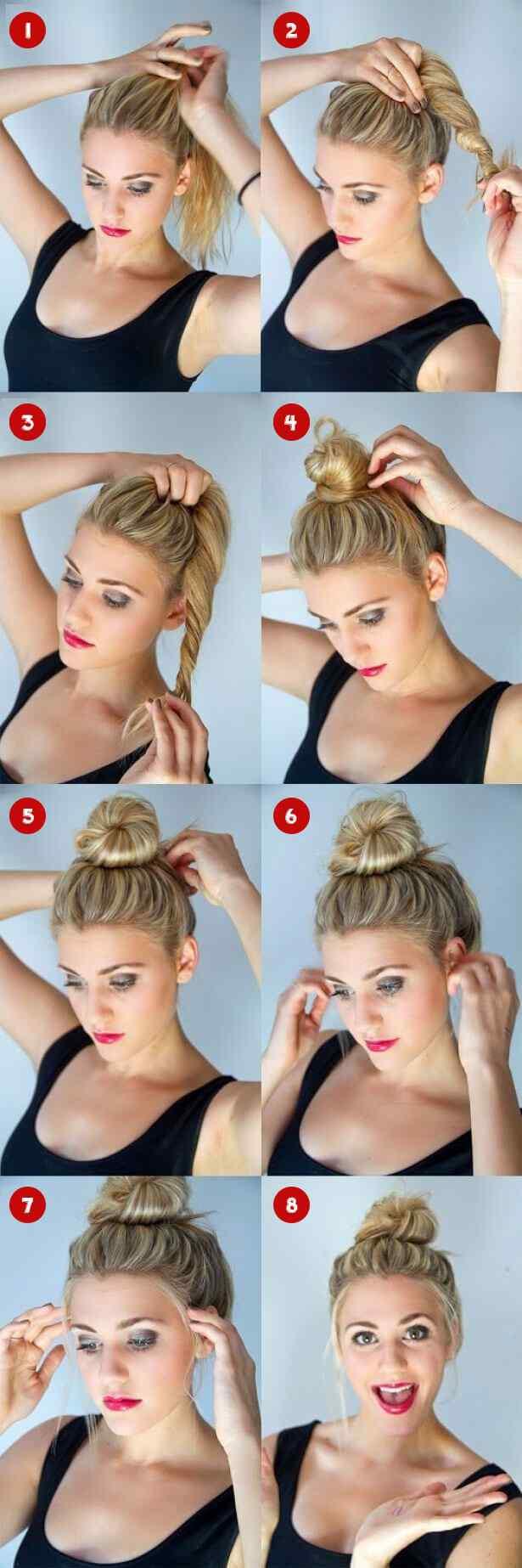 peinados-con-rodete