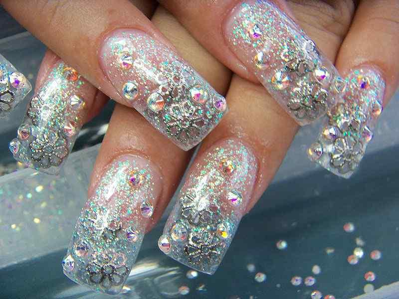 quinceaneras nail art (4)