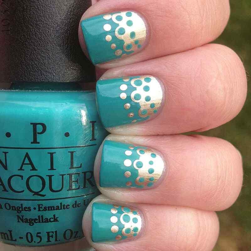 quinceaneras nail art (7)