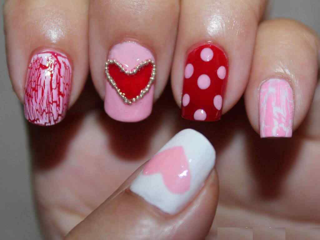 unas corazones amor dia enamorados (9)