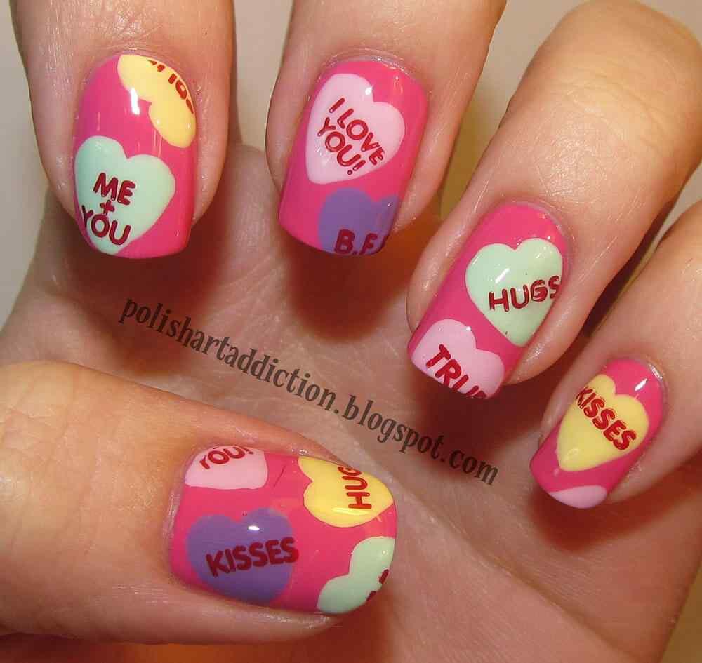 unas decoradas con corazones (10)
