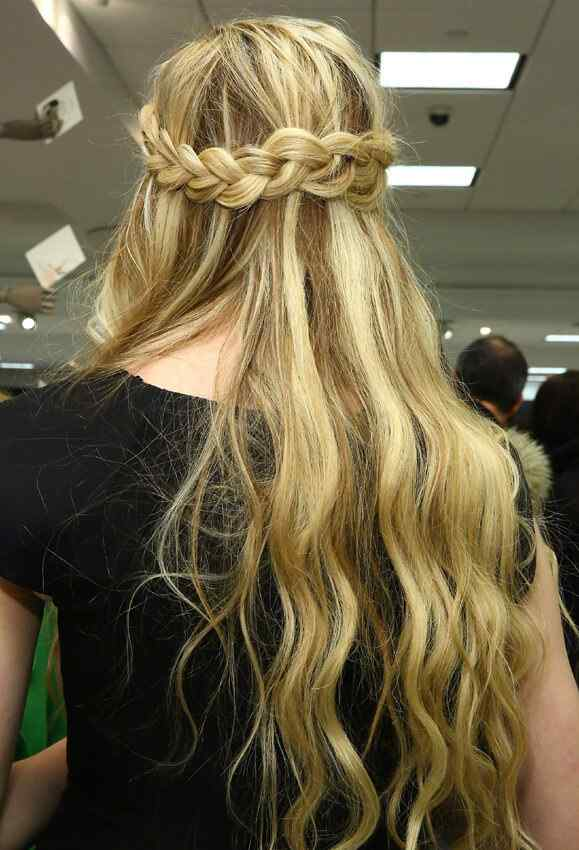 trenzas hairstyle