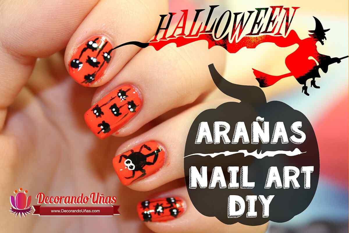 unas-decoradas-con-aranas-para-halloween