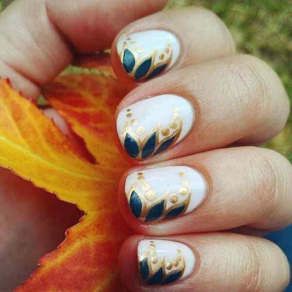 Fall nails art design (2)