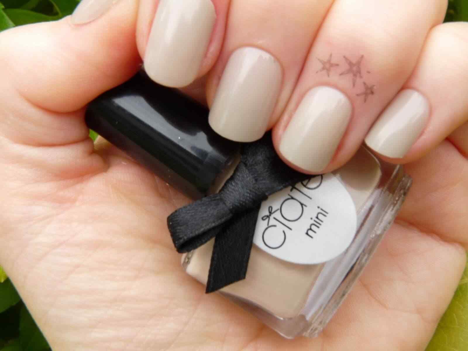 cuticle tattoo nail art (2)