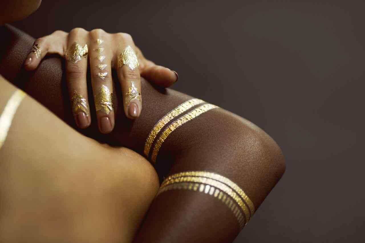 cuticle tattoo nail art (9)