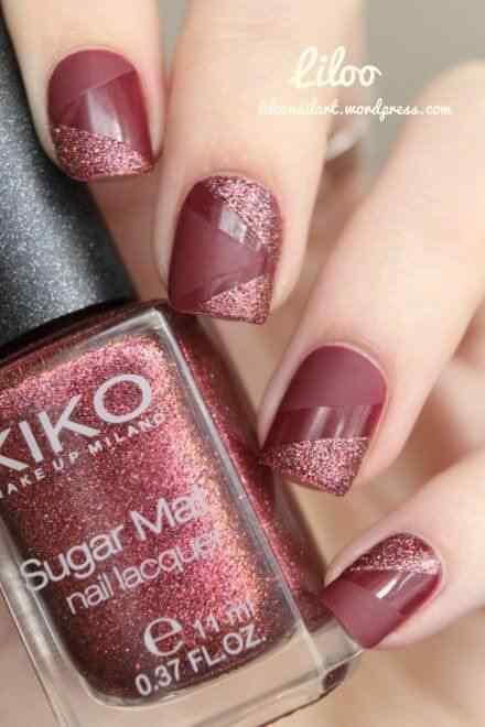 matte nail art (8)