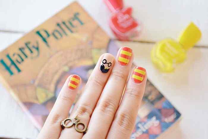 nail-art-harry-potter