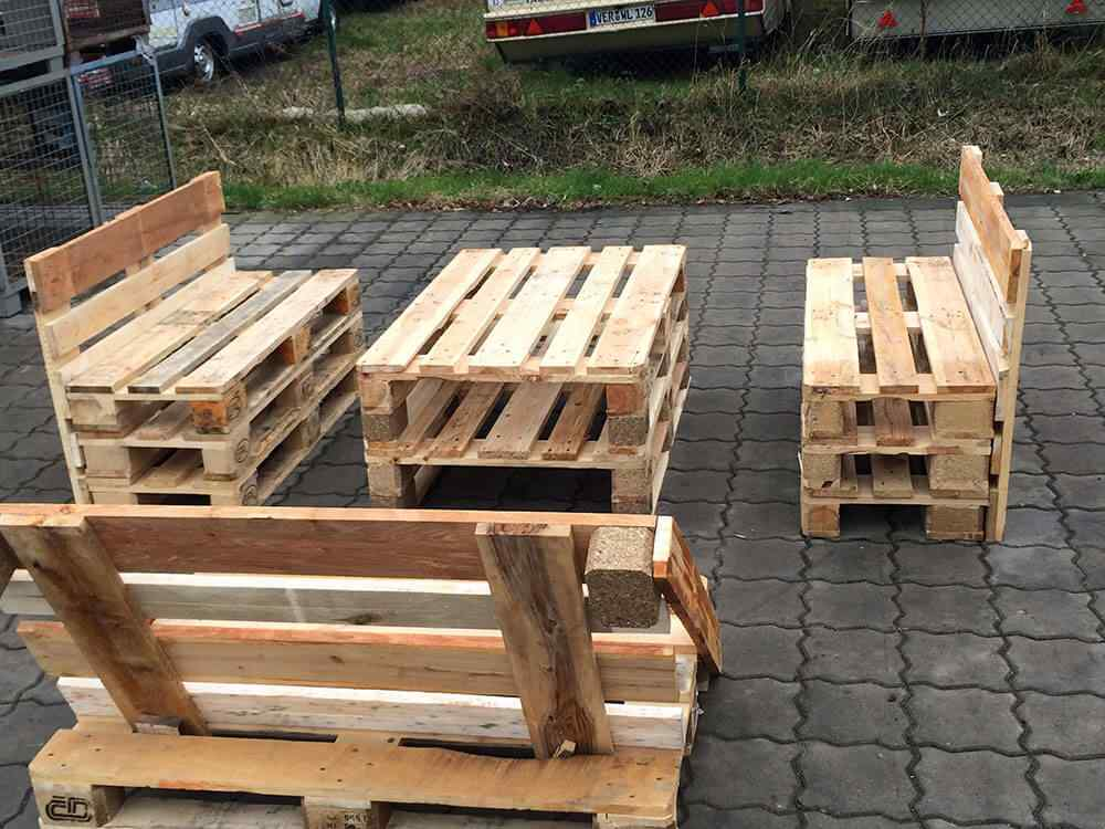 M s de 60 ejemplos de muebles hechos con palets for Muebles hechos con paletas de madera