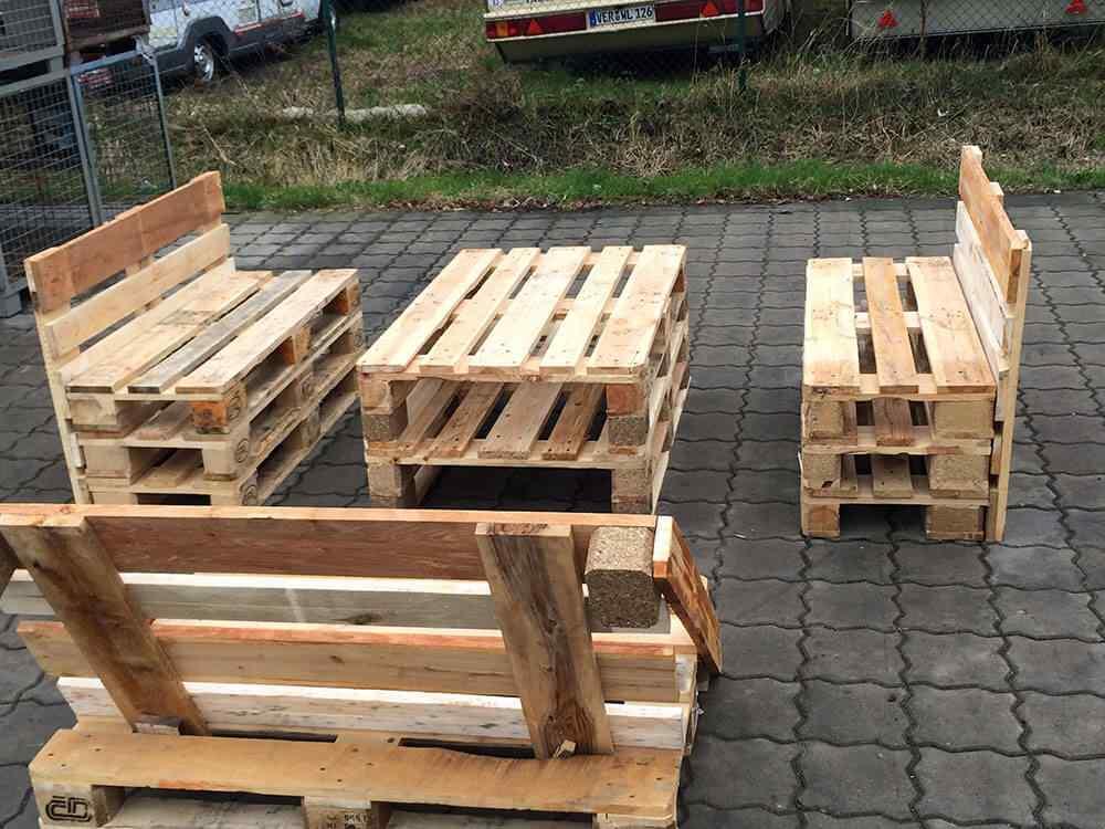 M s de 60 ejemplos de muebles hechos con palets - Decoracion de palets ...