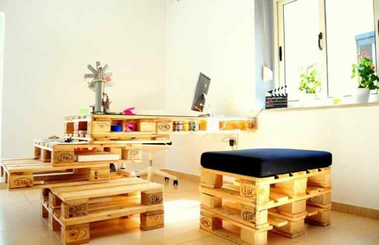 muebles hechos con palets  Decoración de Uñas  Manicura y Nail Art