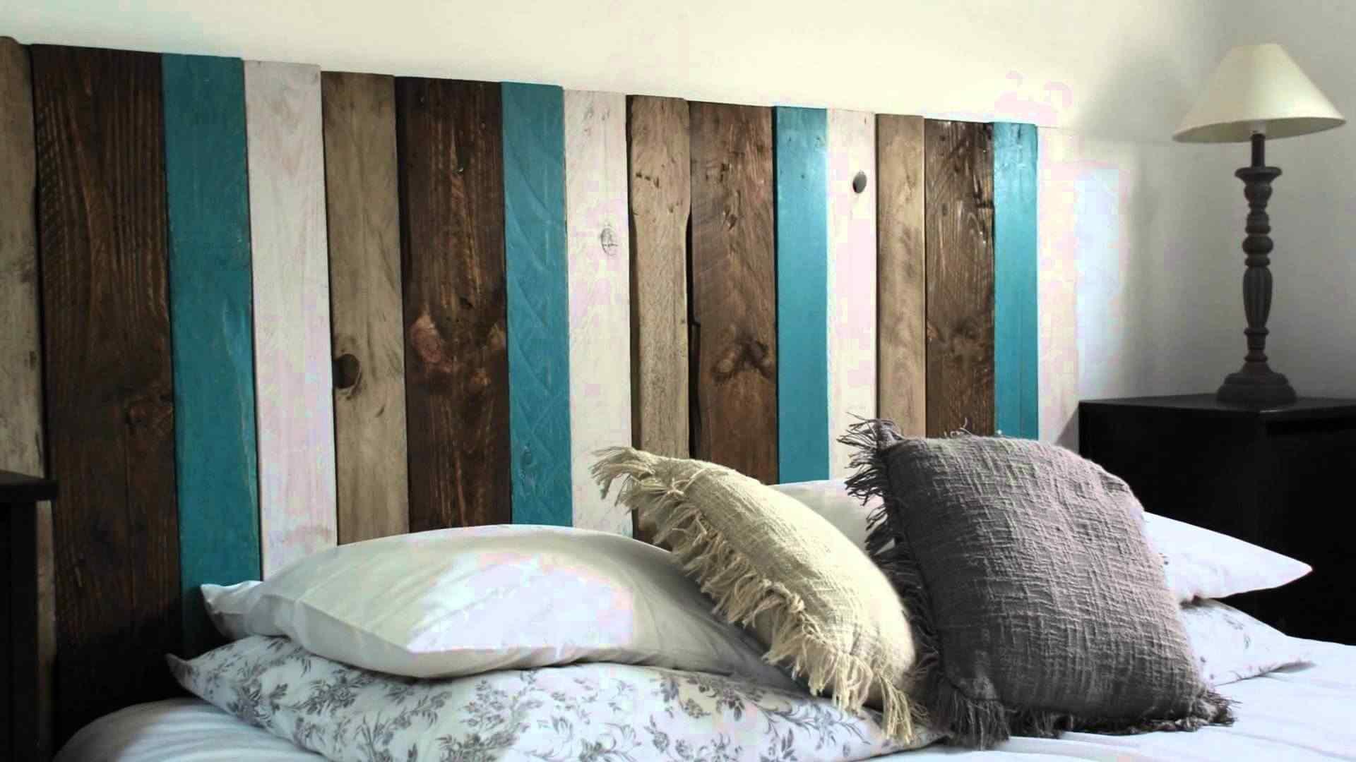 respaldo de cama con palets