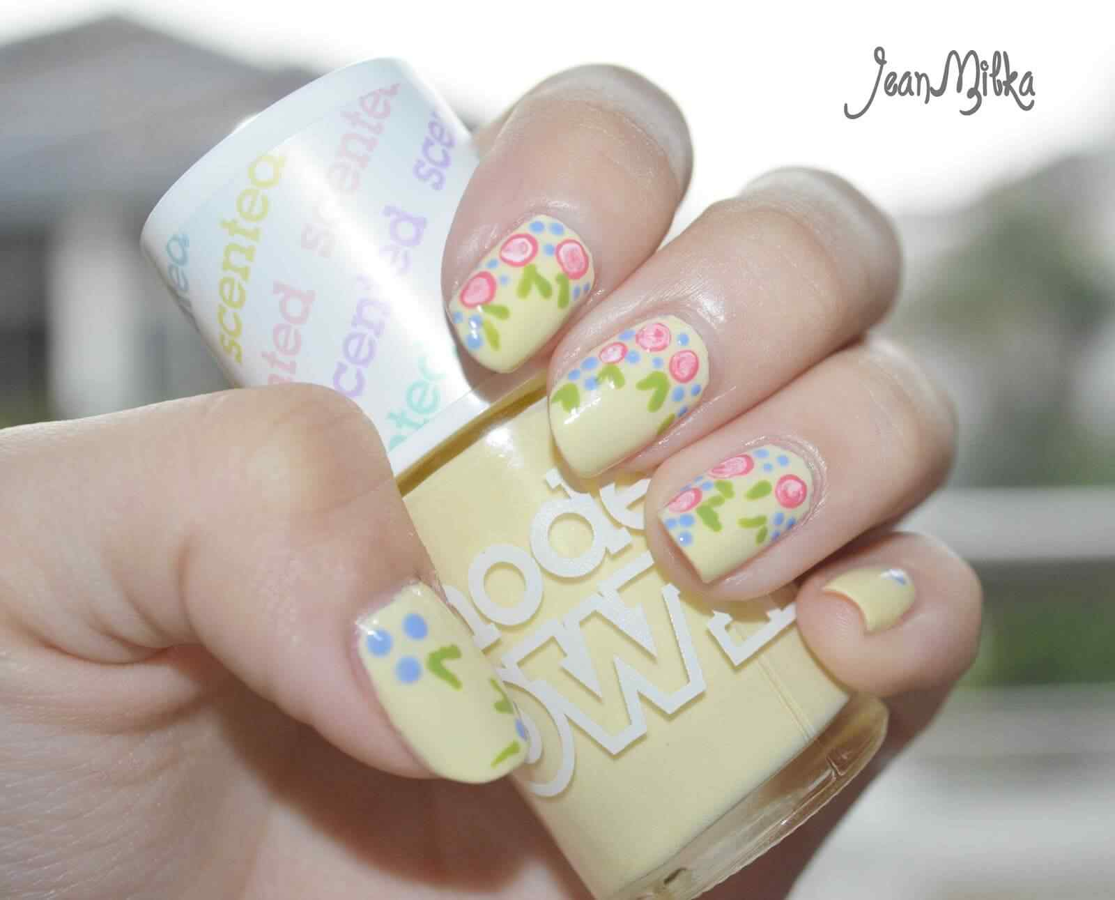 Fuente: http://www.jeanmilka.com/2014/03/pink-manicure-spring-in-pastel-nail-art.html#more