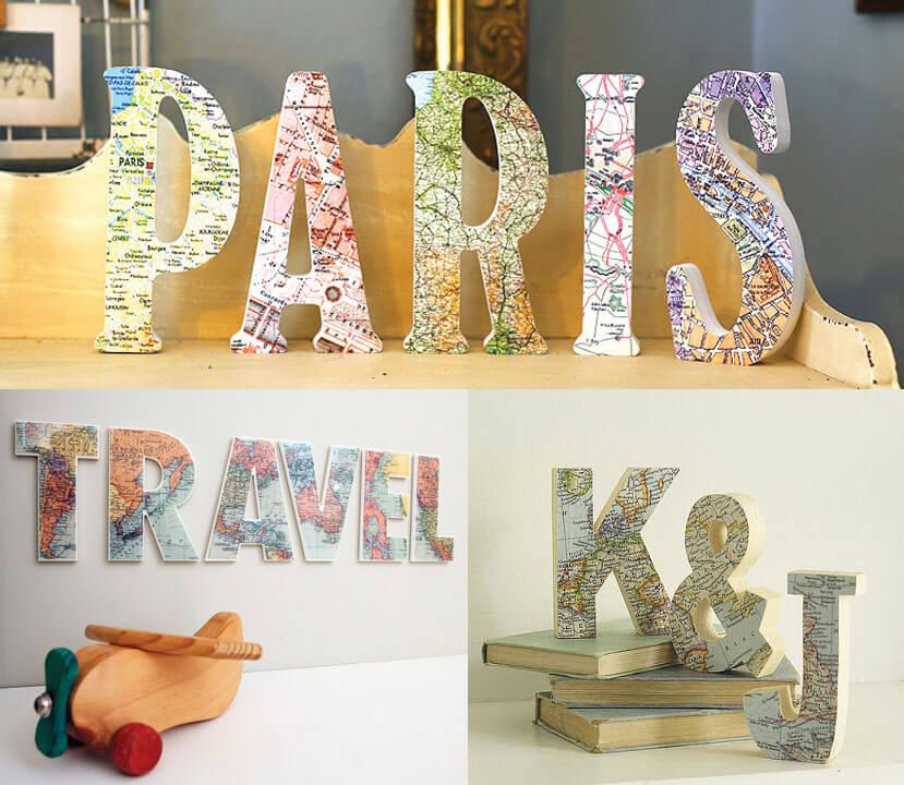 decoración-letras-mapa