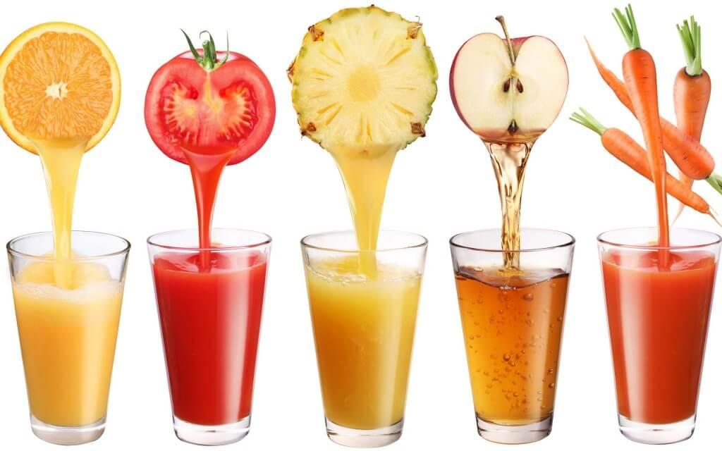 jugos frutas verduras bajar peso