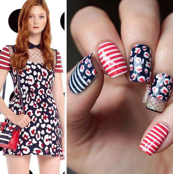 Fuente: http://nenuno.co.uk/nail-art/50-lovely-spring-nail-art-ideas/