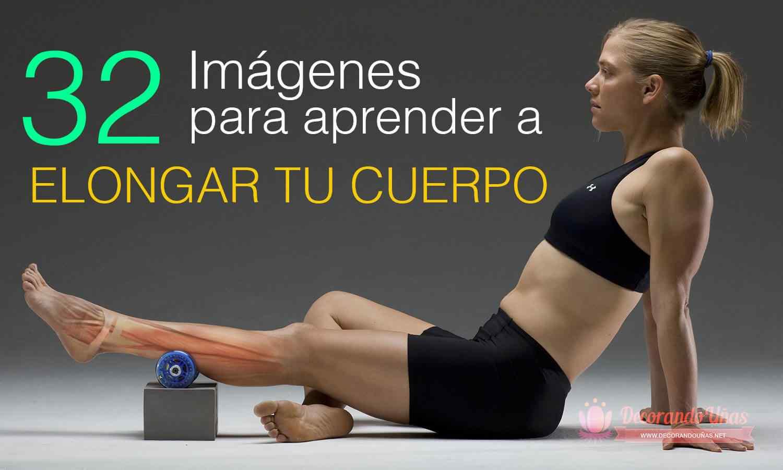Elongación o estiramiento muscular