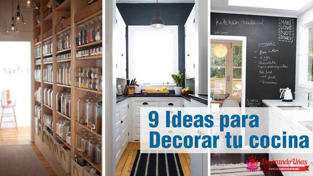 Ideas creativas para decorar tu cocina