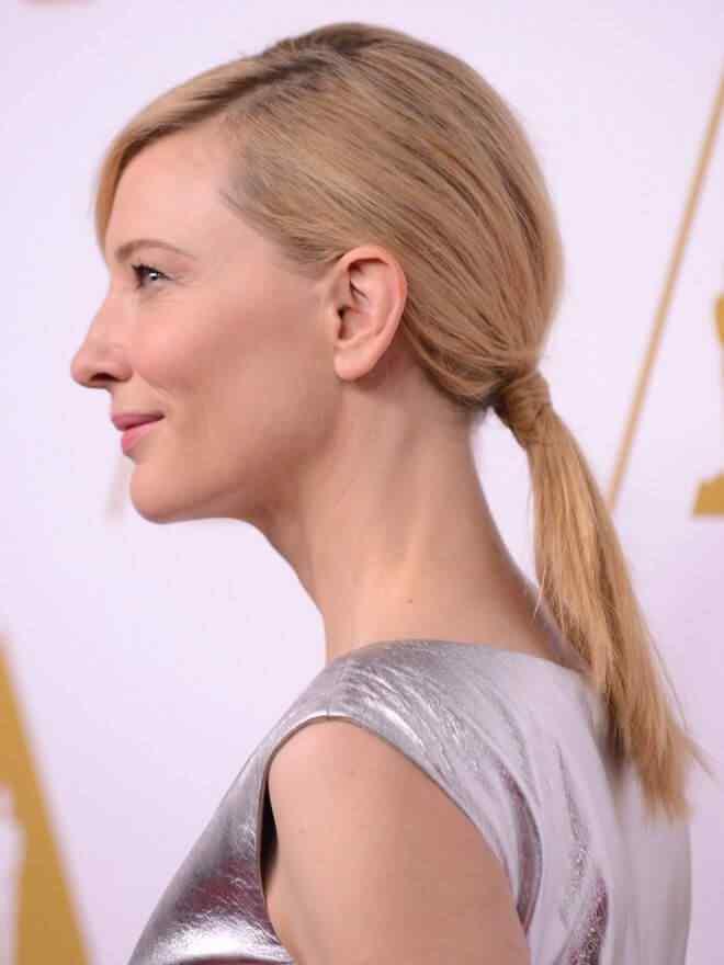 peinados de Cate Blanchett