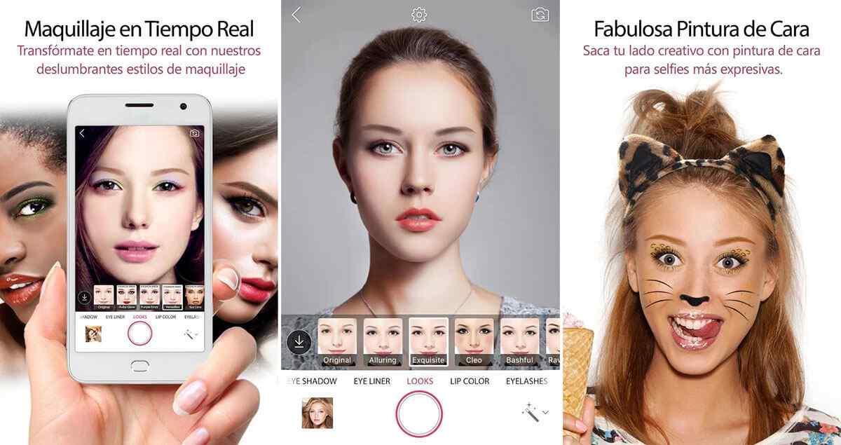 Youcam makeup maquillaje en vivo