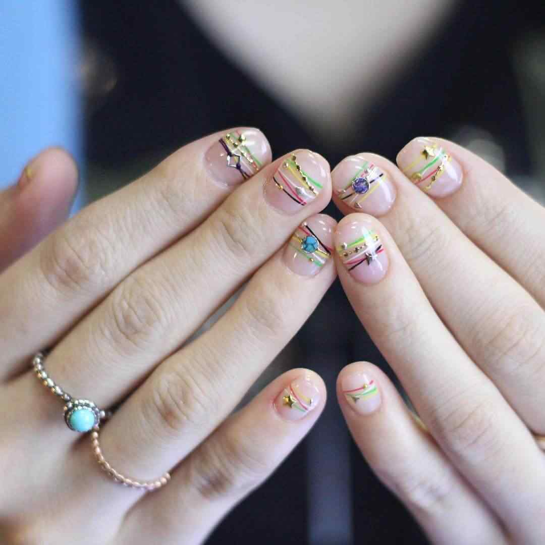 Bracelet Nail art