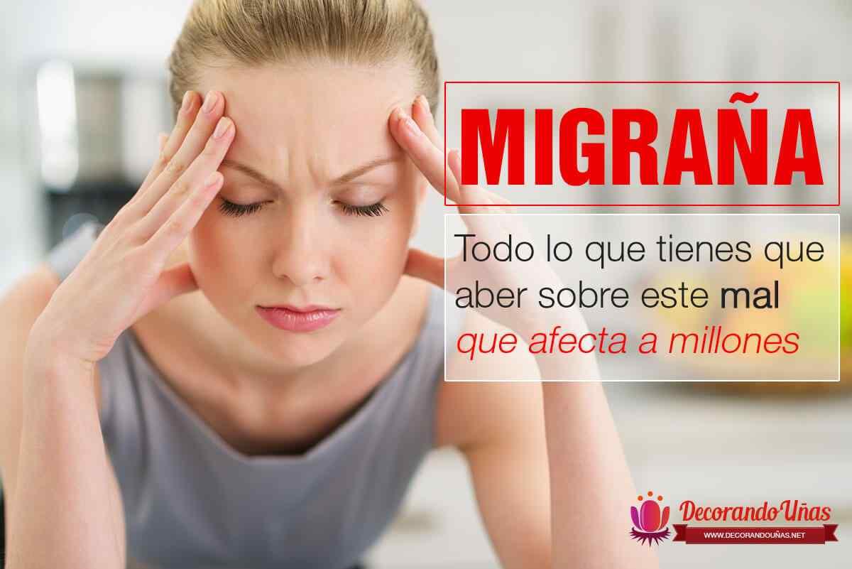 como curar migraña