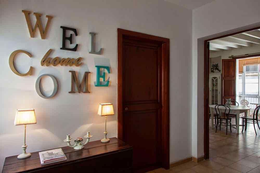 decorar casa con letras