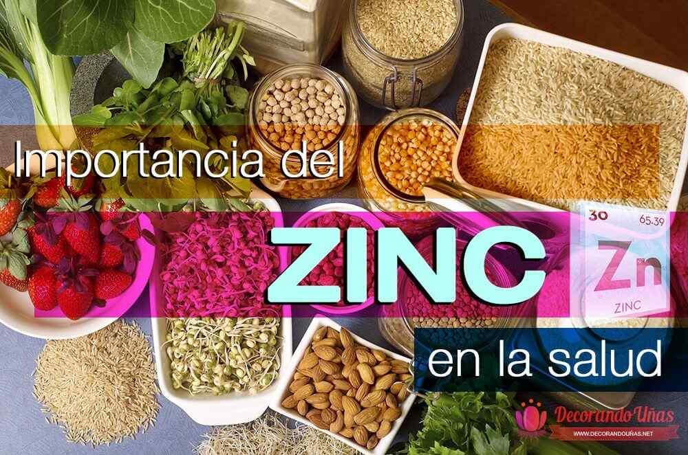 importancia zinc en salud